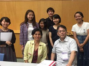 食・農の学びをアジア家政学の国際学会で発表する