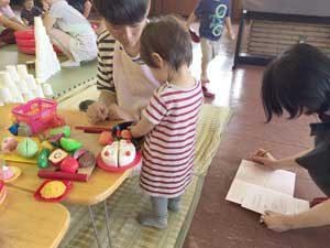 1年生が婦人之友社で乳幼児実習
