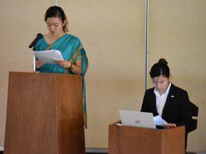 ネパールワークキャンプの報告会を開催しました