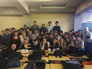 ポーランド・ポメラニアン大学からの交換留学生との交流