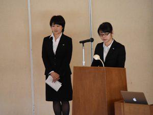 4年課程卒業研究・2年課程卒業勉強の第3回中間報告会開催される