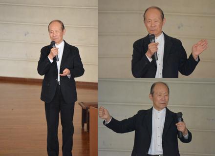 滝沢具幸先生退任記念講演と作品展