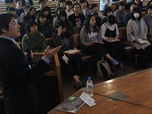 領域横断研究開講記念講演会開催される