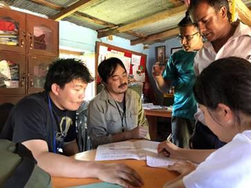ネパールワーク現地からの報告1